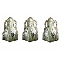 Buy cheap Coffin Decoration Casket Accessories Pale Gold Plastic PP Recycle Material from wholesalers