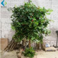 Buy cheap 2.5m Height Artificial Fruit Tree , Litchi Fruit Tree For Rainforest Landscaping Decoration from wholesalers