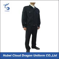 Buy cheap Dark Blue Police Security Officer Uniforms For Public Safety Protection , Color Customized from wholesalers