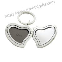 Buy cheap Luxury metal Picture locket key rings, exquisite picture locket for keychains, MOQ500pcs, from wholesalers