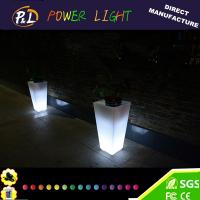 Buy cheap Wedding Party Decoration Event Furniture LED Plastic Pot from wholesalers