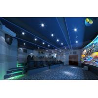 Buy cheap Fantastic 45 Seats 5D Cinema System With Luxury Fiberglass Leather Chairs product