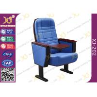 Buy cheap Blue Folding Cinema Style Chairs For Auditorium High Strength Steel Structure from wholesalers