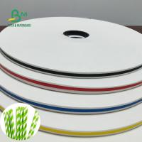 Buy cheap 15 / 14MM Waterproof Paper Roll For Drinking Straws 60 / 120GSM from wholesalers