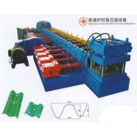 Buy cheap Full Automated Italian Technology Highway Guardrail Roll Forming Machine European Standard Expressway Barrier product