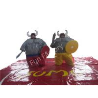 Buy cheap Kids And Adults PVC Inflatable Sumo Wrestling Suits Foam Padded in Red from wholesalers