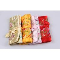 Buy cheap Beautiful Embroidery Jewelry Bundle Type Travel Organizer Bag of Bright Silk from wholesalers