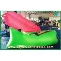 Buy cheap Nylon Cloth Custom Inflatable Products Air Sleeping Couch With Logo Print And Label from wholesalers
