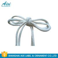 Buy cheap 100% Cotton Webbing Straps Printed Flat Cotton Elastic Cord Shoelace from wholesalers