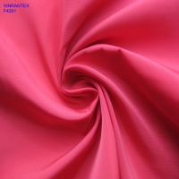 Buy cheap F4201 100% polester imitation memory fabric two tones with wr pu coating for jacket from wholesalers