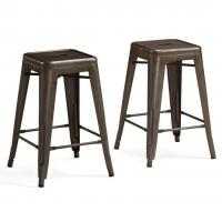 Buy cheap Professional Marais Cafe Restoration Metal Tolix Chairs , Tolix Counter Stool from wholesalers