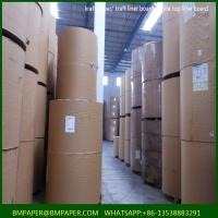 Buy cheap China supplier brown recycled kraft liner paper for carton box from wholesalers