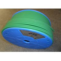 China Tensile Strength Polyurethane Round Belt / Green PU Extruded Belt on sale