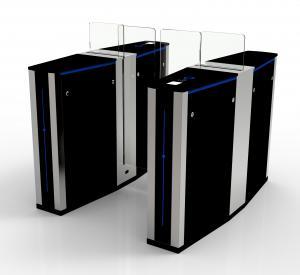 Buy cheap 500 Watt 24V Optical Barrier Turnstiles Fully Automatic Pedestrian Speed Gate product