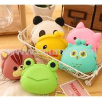 Buy cheap Funny OWL Pattern Cartoon Animals Silicone Coin Purse Pouch Coin Bag for Kids from wholesalers