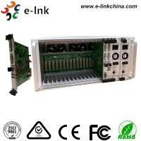 Buy cheap 5U 16 Slot Rack Mount Card DVI Video To Fiber Converter 4K With Two - Year Warranty from wholesalers