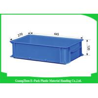 Buy cheap Supermarkets Large Plastic Storage Boxes , Durable Euro Storage Containers Food Grade from wholesalers