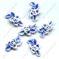 Buy cheap Blue 3D Soft Flower Nail Art from wholesalers