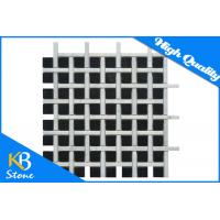 Buy cheap 12 x 12 Polished Marble Mosaic Wall Tiles Black And White for Bathromm / Kitchen from wholesalers