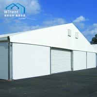 Buy cheap Outside Storage Warehouse Tent , Big Temporary Warehouse Tent Rolling Door from wholesalers