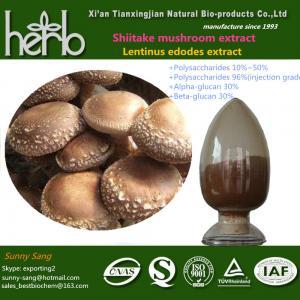 China Shiitake mushroom extract on sale