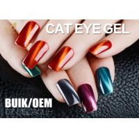 Quality Solvent Free Changable Cat Eye Gel Nail Polish 3D Effect Liquid No Nicks for sale