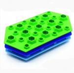 Buy cheap Jumbo Small Ice Cube Trays , Fun Ice Cube Trays 27 Cavity Large Capacity from wholesalers