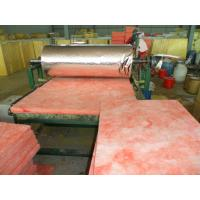Buy cheap Glass wool blanket with Alum.foil faced one side/glass wool for building and industry insulation from wholesalers