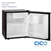 Buy cheap Single Door Mini Worktop Fridge , Small Office Refrigerator With Lock from wholesalers