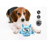 Buy cheap Automatic Interactive Plush Dog Squeaky Toy , Pet Dog Toy With Batteries product