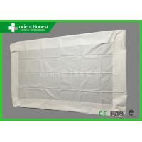 Buy cheap Waterproof Microporous White Disposable Bed Linen For Hotel / Hospital / Spa / Salon from wholesalers