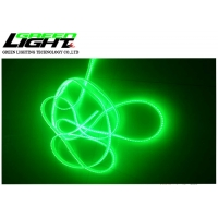 Buy cheap Single green color led light strips use for underground mine, 75 leds/m 5050, silicon gel impact-resistant materals from wholesalers
