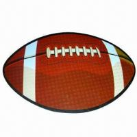 Buy cheap Rubber magnet in design of football style, customized designs are welcome product
