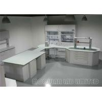 Diverse Laboratories Modular Laboratory Benches And Cabinets , Steel and Wood Lab Tables