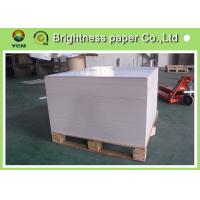 Thick Shopping Bag Paper , Coated Recycled Board Paper For Making Boxes