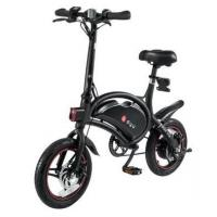 Buy cheap www.yolcart.com F-wheel DYU D3 250W 36V Folding Electric Bike Aluminum Alloy EU Plug 14 Inch Wheel Tire Max 50KM Mileage from wholesalers