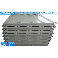 Buy cheap Environmental EPS Sandwich Wall Panels For Assembling Prefab Houses from wholesalers
