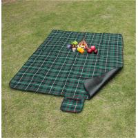 Buy cheap Customize Pattern of 100% polyester waterproof picnic blanket for bulk sale product