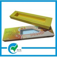 Buy cheap Push-pull chocolate paper packing window box printing from wholesalers