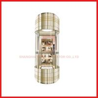 Buy cheap Load 630-1600kg and Speed 1.0-1.75m/s with Panoramic Office Hotel Villa High Speed Elevator from wholesalers