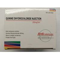 Buy cheap Quinine dihydrochloride Injection 300 mg / mL Anti Malaria Medicine from wholesalers