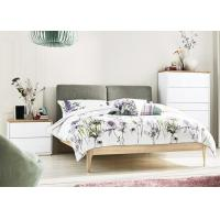 Buy cheap Modern Bedroom Furniture Set White Gloss/Matt/ Bedroom Furniture Sets with Fabric Bed Head from wholesalers