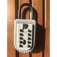 Buy cheap High security Push Button Protable Key Lock Box for Real Estate from wholesalers