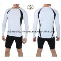 Buy cheap 2013 New Men Compression Tight Skin Clothes for Cyclingbikebicycle Running from wholesalers