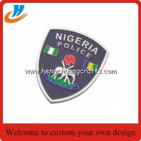 Buy cheap Police badge, hard enamel pin badge with high process Hengchuang crafts supply from wholesalers