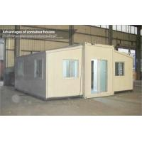 Buy cheap Extended Foldable Storage Container House With Glass Sliding Door from wholesalers