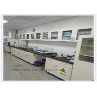 Buy cheap Capacity Above 500kg Full Steel Lab Furniture / Metal Workshop Bench With Reagent Rack from wholesalers