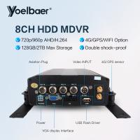 Buy cheap High Stable 8ch DVR AHD 720P 4G GPS Tracking On Mobile Phone Computer APP from wholesalers