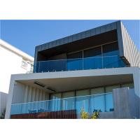 Buy cheap Tempered Frameless Glass Railing Customized Height , 1200mm Maximum Centres from wholesalers