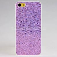 Buy cheap 2013  fashion and new  Glitter Design Colorful Plastic Hard Case For iPhone 5C from wholesalers